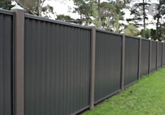 Colourbond Dog Fence